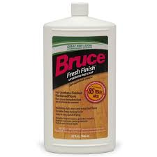 shop bruce fresh finish 32 fl oz floor at lowes com