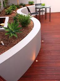 modern deck with raised beds u0026 fence zillow digs zillow
