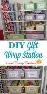 storing wrapping paper gift wrap organization ideas of fame