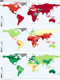 England On A World Map by Life Expectancy Our World In Data