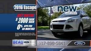 Ford Escape Msrp - ford escape january 2016 15s beau townsend ford commercial youtube