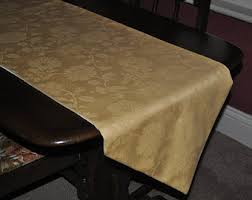 damask table topper table runner centerpiece round table