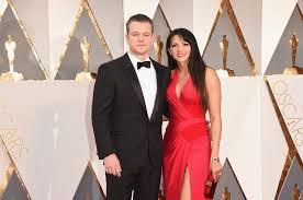 how did matt damon meet his wife popsugar celebrity