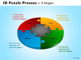 4 piece jigsaw template powerpoint 3 piece puzzle template