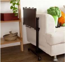 portable sofa table swivel black foldable notebook adjustable laptop table on sofa