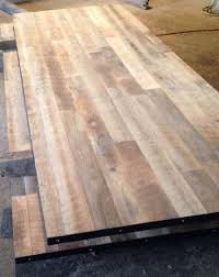 reclaimed oak table top unfinished rectangular wood table tops wehanghere