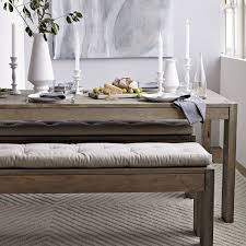 Dining Room Tables With Benches And Chairs Dining Room Table Bench Pads Bench Decoration