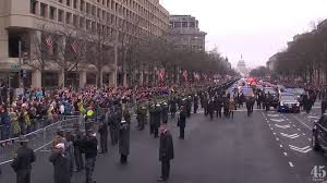 picture of inauguration crowd how big were the crowds for trump u0027s inauguration anyway cnet