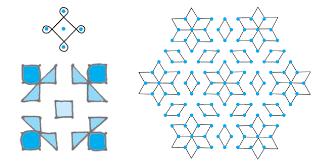 rangoli patterns using mathematical shapes symmetry shapes cbse class 6 ekshiksha