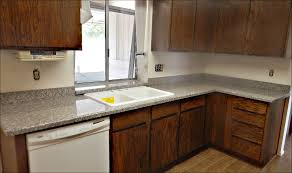 kitchen charming grey granite countertops with brown cabinets