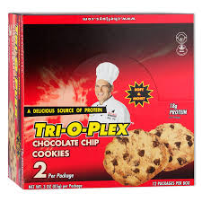 Chefb O Amazon Com Tri O Plex Cookies Chocolate Chip 3 Ounce Packages