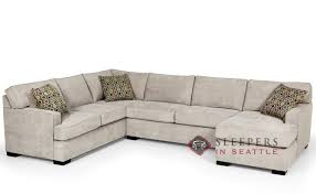 Most Comfortable Sofa Bed In The World The 146 U Shape True Sectional Queen Sleeper Sofa By Stanton At