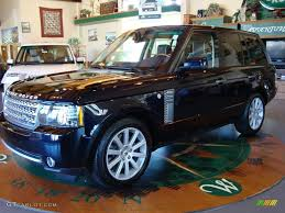 navy range rover 2010 buckingham blue metallic land rover range rover supercharged