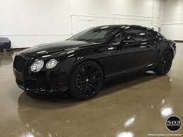 black bentley 2014 bentley continental gt speed