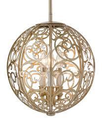 silver ball pendant light tequestadrum com