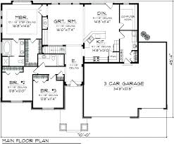 one level open floor plans one level open floor house plans ranch house plans one story single