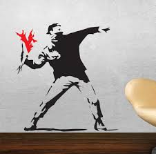 28 banksy wall art stickers 25 best ideas about banksy wall banksy wall art stickers online buy wholesale banksy wallpaper from china banksy
