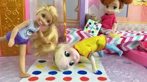 Room Awesome Barbie Game Room by Sleepover Elsa U0026 Anna Slumber Party At Chelsea U0026 Barbie U0027s Doll