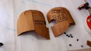 dali lomo x men magneto costume helmet diy cardboard with