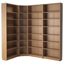 Bookshelves Oak by Furniture Interesting Corner Ikea Hemnes Bookcase With Oak Wood