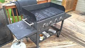 blackstone griddle surround table blackstone 36 grill box weareblackstone youtube