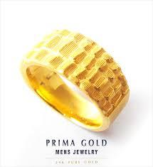 gold ring images for men primagold rakuten global market 24 k solid gold mens ring 24