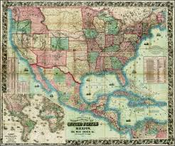 1861 Map Of The United States by Antique Prints Blog May 2014