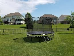 Safest Trampoline For Backyard by Trampolines Indianapolis Recreation Unlimited