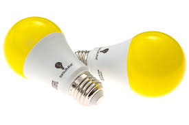 no bug light bulb solray amber yellow led bug light bulb 2 pack no blue light outdoor