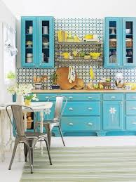 Best Turquoise And Orange Kitchen Images On Pinterest Orange - Turquoise kitchen cabinets
