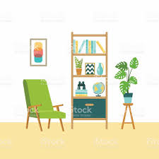 home furniture vector flat illustrations stock vector art