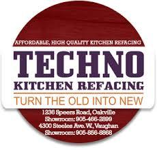 Kitchen Cabinet Refacers Techno Kitchen Refacing Kitchen Cabinet Refacers Oakville