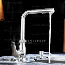 best single hole nickel brushed kitchen faucets clearance 116 99