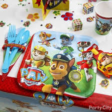 paw patrol party table idea party