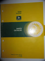 buy john deere 1530 tractor parts catalog book manual original jd