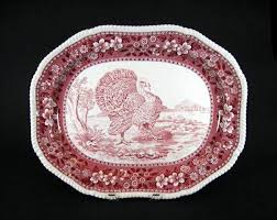 copeland spode white turkey platter