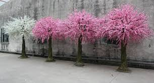 2 5 m large fiber glass decor wedding artificial cherry tree