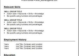 Relevant Skills On Resume Resume Keywords Hitecauto Us