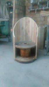 Cable Reel Chair Diy Pallet And Spool Chair Pallet Furniture Plans