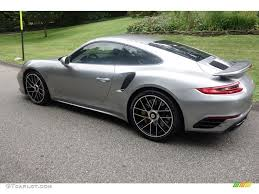 miami blue porsche turbo s 2017 gt silver metallic porsche 911 turbo s coupe 115513312 photo