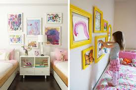 creative ways to display your children u0027s drawings the box