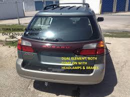 subaru headlight names 2000 obw rear side marker lights inoperative when headlight switch