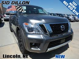 nissan armada wireless headphones new 2017 nissan armada platinum suv in lincoln 4n17986 sid