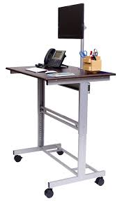 adjustable monitor stand for desk top 10 best standing sit stand desks 2018 editors pick