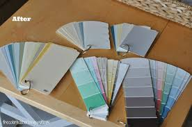 Paint Chips by The Colored Door Paint Chip Organization