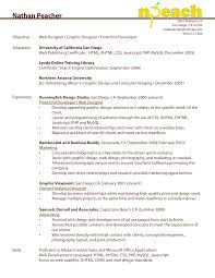 resume objective for web developer web developer resume objective