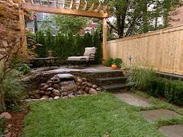 simple backyard designs steel hanging planter 9feet market
