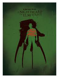 horror home decor alternative movie poster freddy krueger a nightmare on elm street