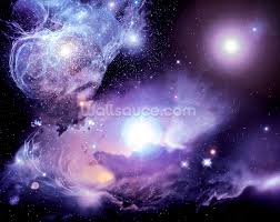 space wallpaper wall murals wallsauce usa fantasy space nebula wall mural