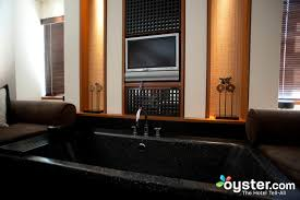 Bathroom In Black Best Hotel Bathrooms In South Beach The Setai Miami Beach